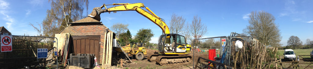Demolition of existing structure's & Reduced Dig